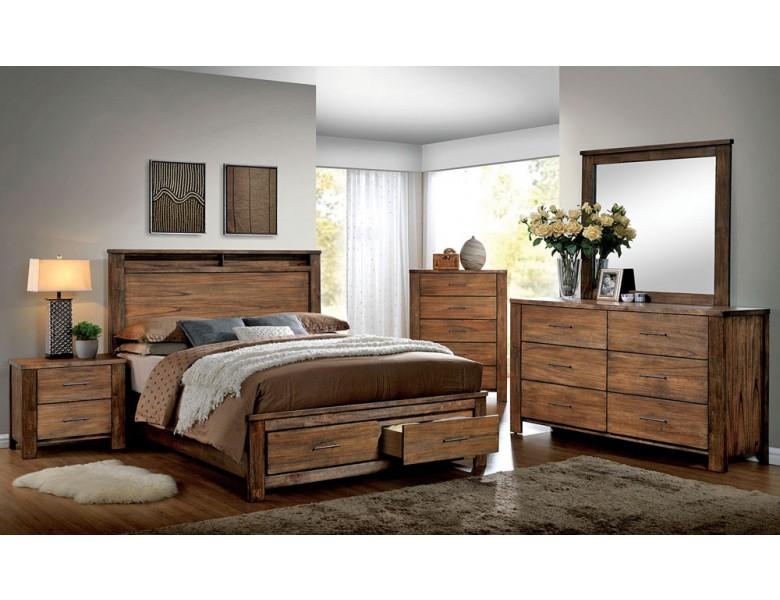 Nellwyn Rustic Oak Bedroom Furniture