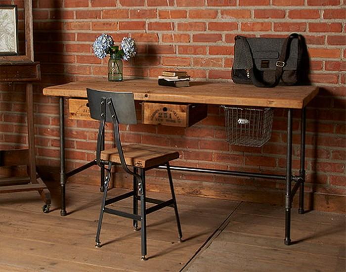 Reclaimed Wood Desks For Office | Tuckr Box Decors : Reclaimed Wood