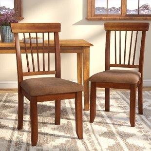 Pecan Dining Chairs | Wayfair