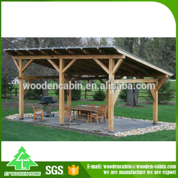 Wholesale Latest Design Cheap Price Wooden Gazebo Made In China