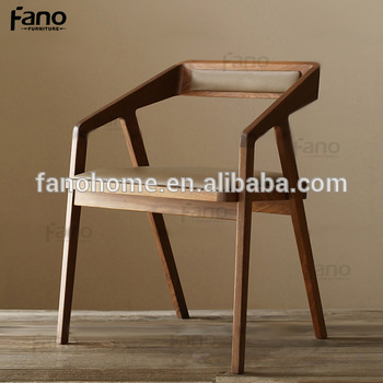 Modern Wooden Office Desk Visitor Chairs With Arms - Buy Wooden