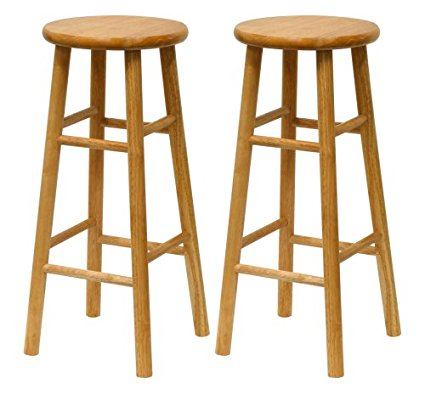 Wooden Bar Stool Josford Natural Stools For In Wood Idea 9
