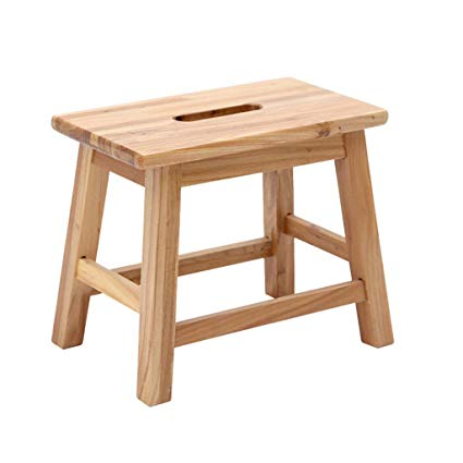 Amazon.com - YANGXIAOYU Small Wooden Stool Home Small Stool Modern