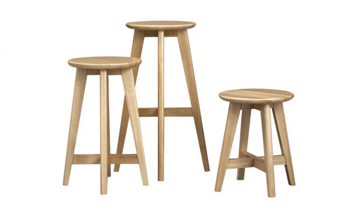 10 Easy Pieces: Wooden Counter Stools - Remodelista