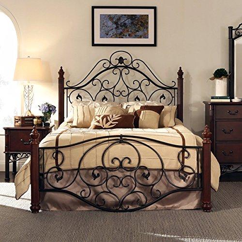 Wrought Iron Bed: Amazon.com