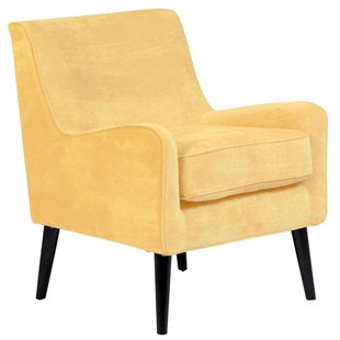 The glamour of the yellow velvet chair