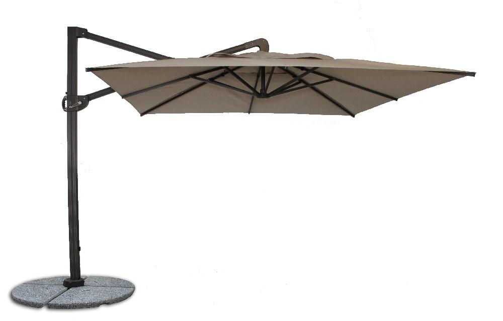 ... buy fiberbuilt 10ft cantilever umbrella with sunbrella fabric ... SVITUOB