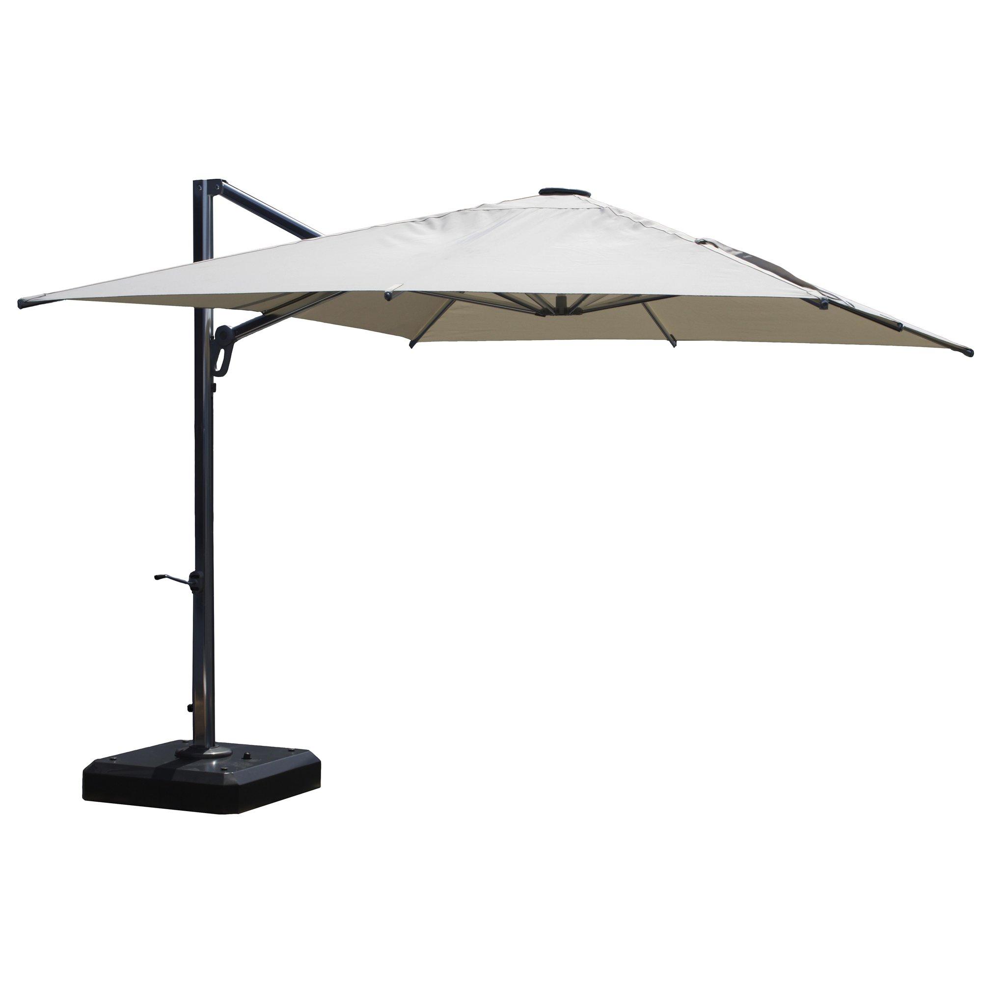 10u0027 square cantilever umbrella TCRWSNC