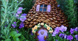 12 diy fairy garden ideas - how to make a miniature fairy garden UXCWPXD