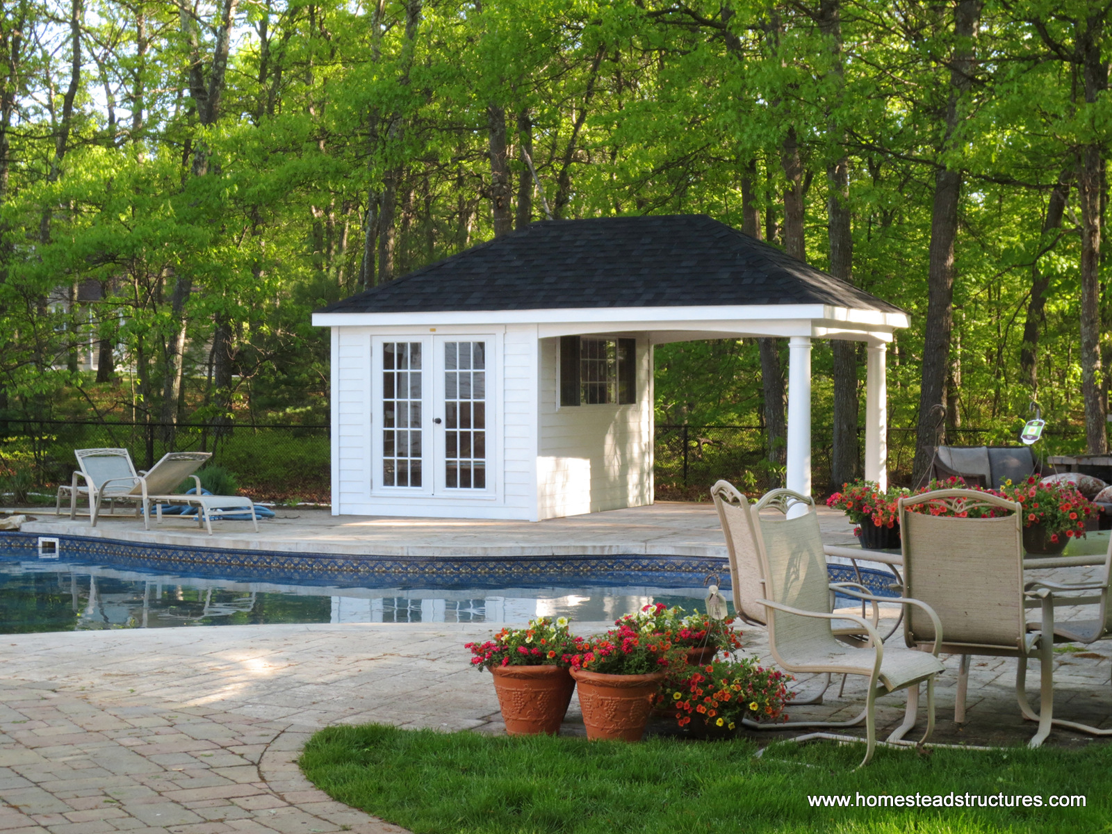 12u0027 x 18u0027 avalon pool house (hardie plank ... WTFFPDV