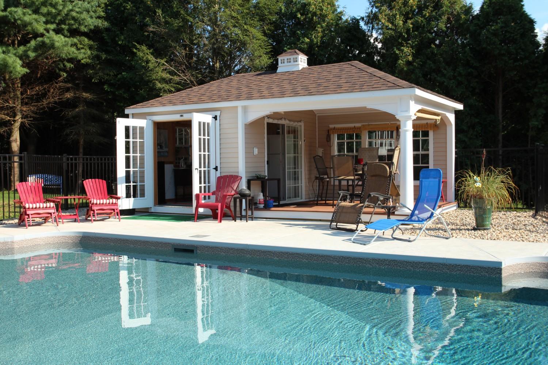 12u0027 x 20u0027 pool house KKWHFVW