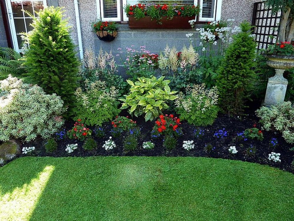 130 simple, fresh and beautiful front yard landscaping ideas FBKBIVK