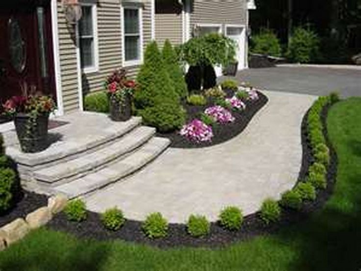 130 simple, fresh and beautiful front yard landscaping ideas QOJZNEL