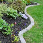 Pros of garden edging