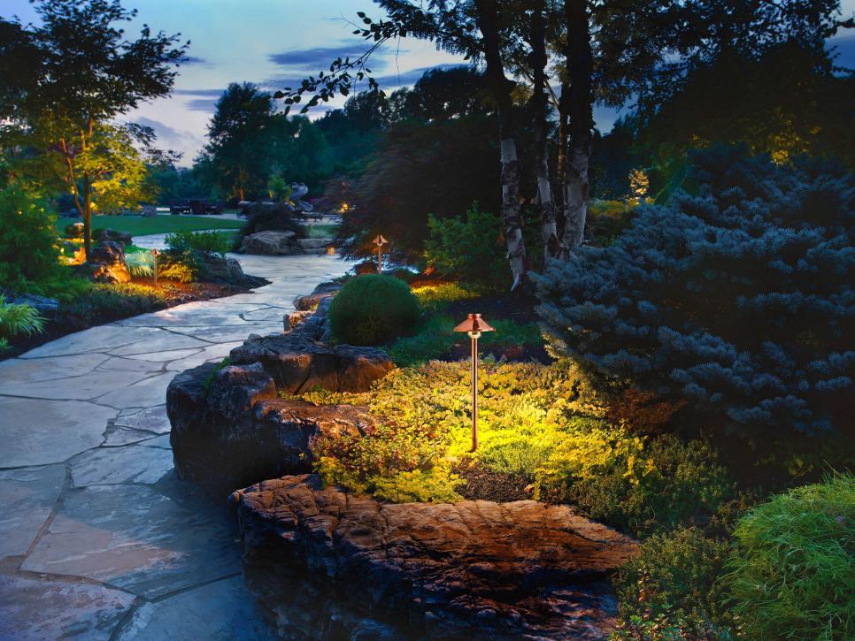 22 landscape lighting ideas | diy DGNYMWF
