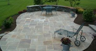 26 awesome stone patio designs for your home YQFKKIV