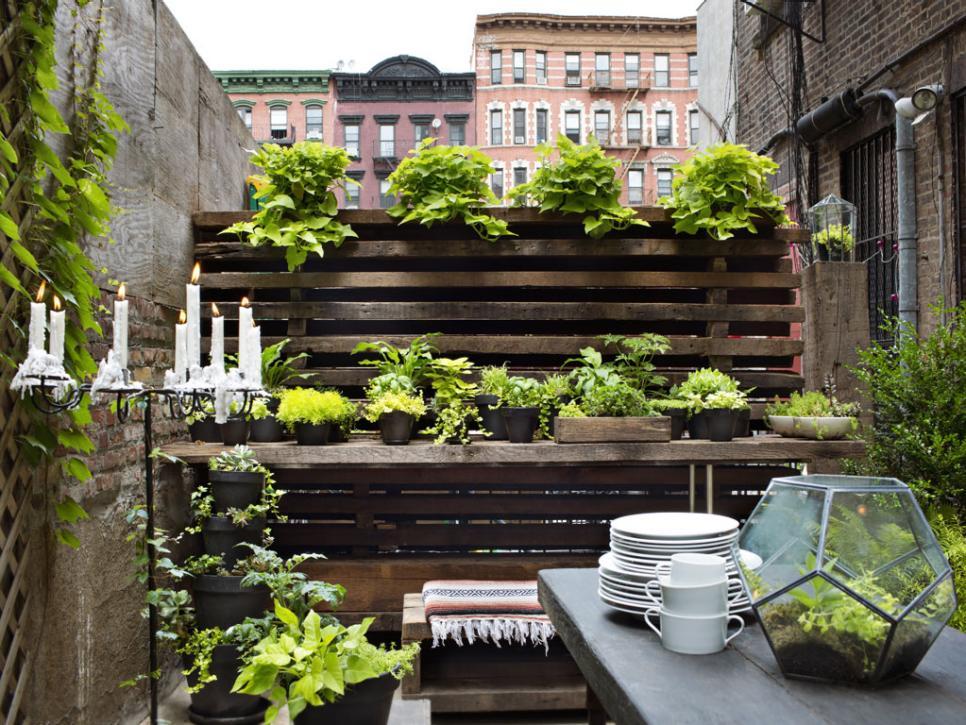 30 small garden ideas u0026 designs for small spaces | hgtv OQDUGWW