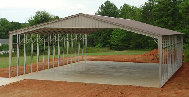 32 40 wide metal carports sc BIQPTQH