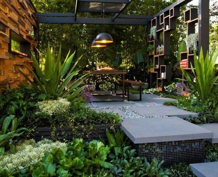 55 backyard landscaping ideas youu0027ll fall in love with WGUGLJX