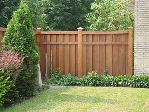 6 ft cedar privacy fence with cap NUGRZZP