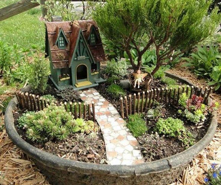 99 magical and best plants diy fairy garden ideas (37 XQKTBHJ