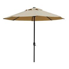 abba patio - market outdoor umbrella, beige - outdoor umbrellas ZUHKFUV