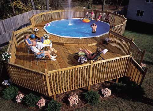 above ground pool deck ideas new techniques to get the job done quick. IJXMUJB
