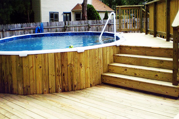 above ground pool deck plans ... awesome-aboveground-pool-decks-8 MMFDLNR