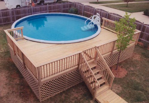 above ground pool deck plans pool deck designs for a 24 round above ground | ... -plans/ LDSAZHI