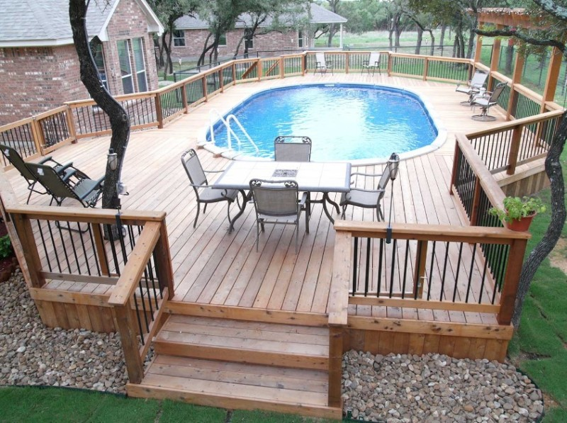 above ground pool decks amazing above ground pools decks idea CYLTAWY