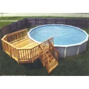 above ground pool decks pool decks for above ground pools for small backyards - google search PXCILJJ