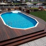 How to come up with above ground pool with decks