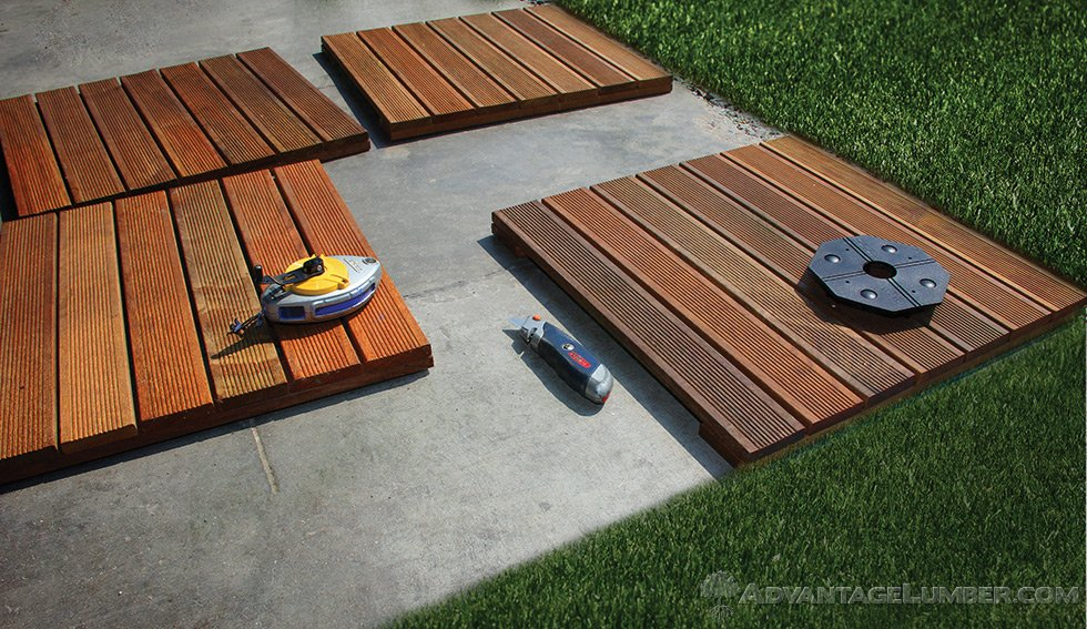 advantage deck tiles installation RFYXEGC