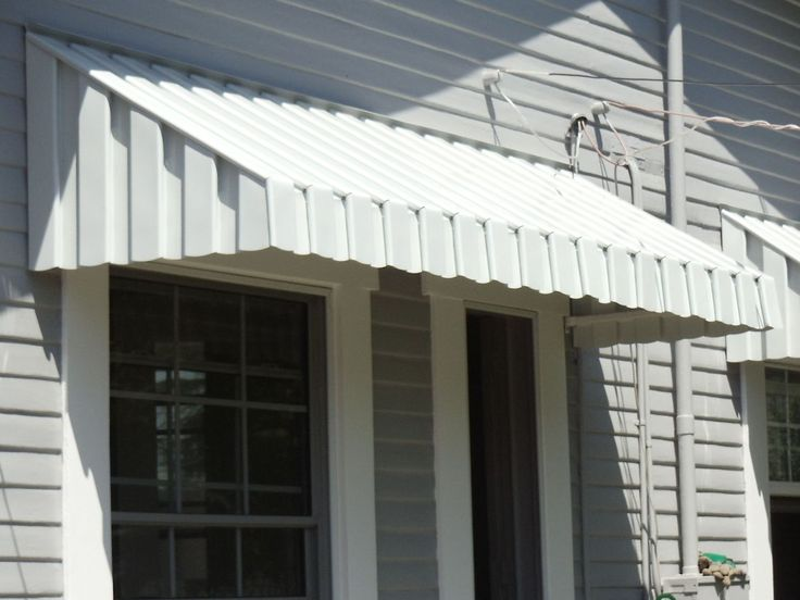 aluminum awnings could scalloped lower edges be cut off the existing awnings? this is a much TPHNMFZ