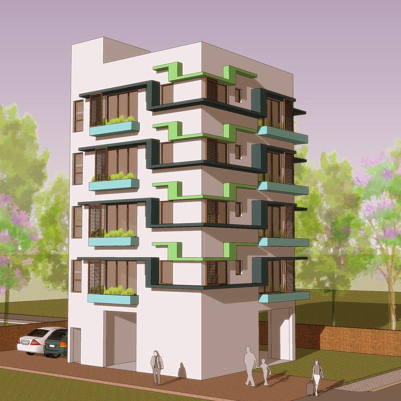 apartment building design - 3002 XJDVDFD