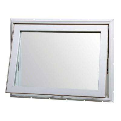 awning window top hinge awning vinyl window - white PNXFQYX