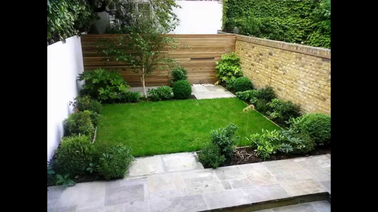 back garden ideas cool small back garden designs - youtube GZIPGVV