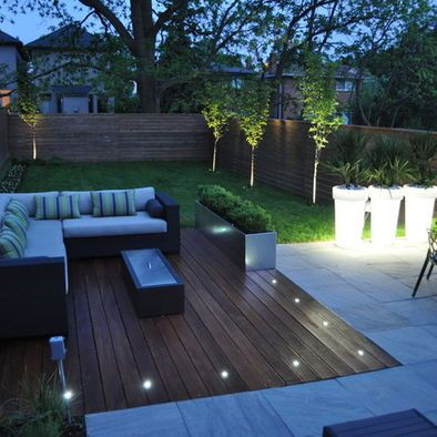 back garden ideas lighting ideas for outdoor gardens, terraces and porches HZRQTTX