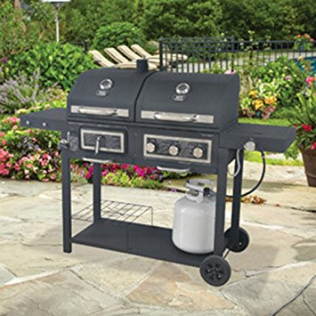 backyard grill gas/charcoal grill AVLLCTL