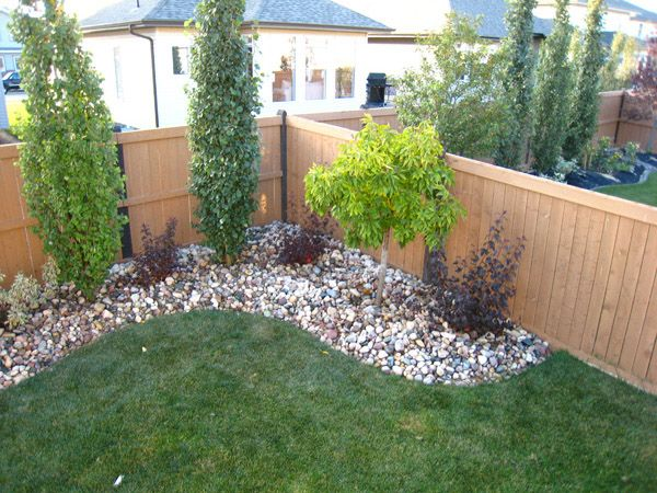 backyard landscaping dress up the corner of your yard with small trees/shrubs! if you need OEJKLWS