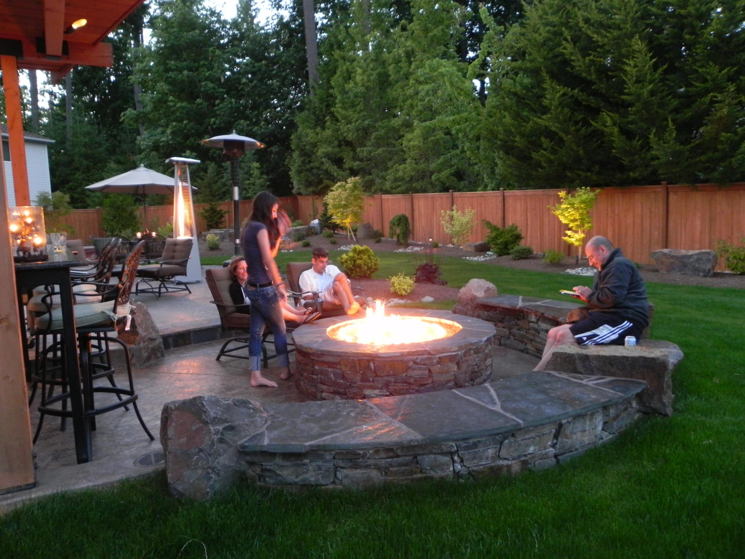 backyard landscaping landscape design in sammamish | sublime garden design | landscape design u0026  landscape architecture LWNJMCZ