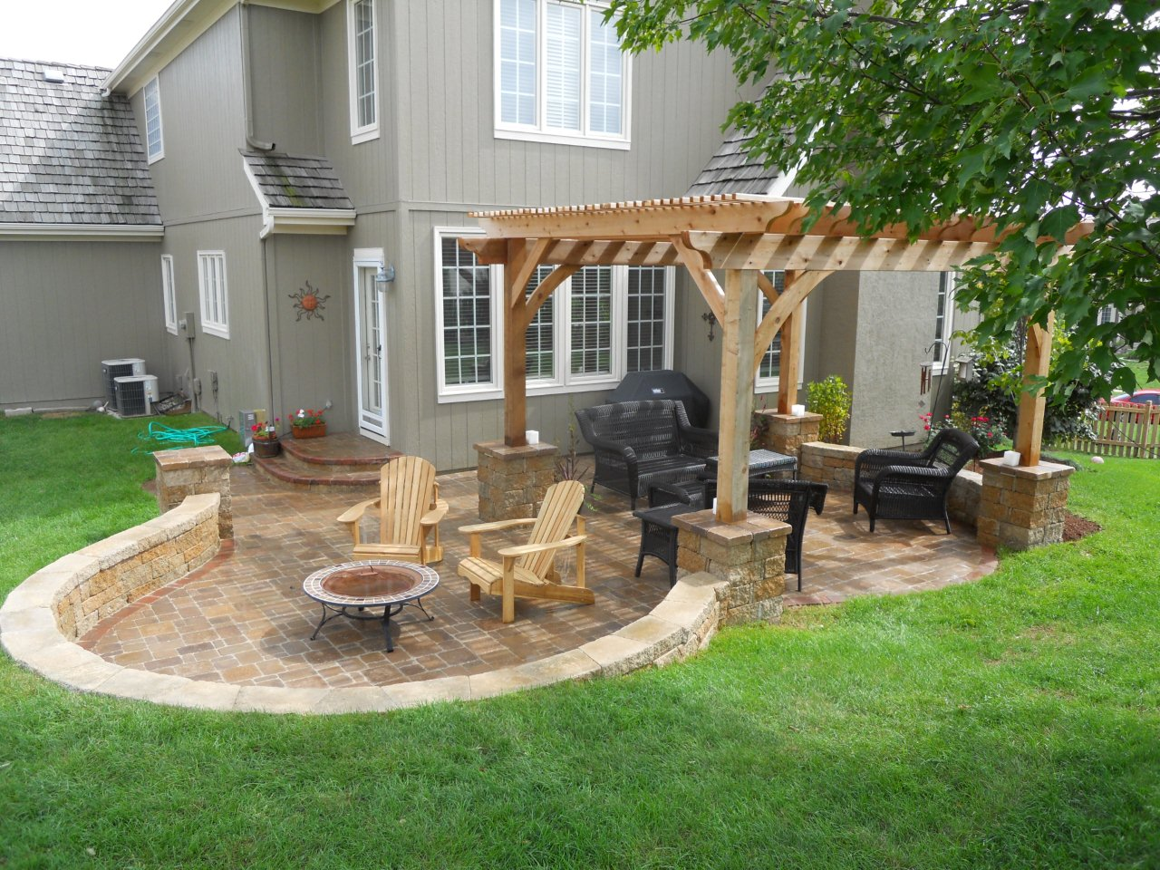 backyard patio ideas 22 awesome pergola patio ideas more RYAHCWP