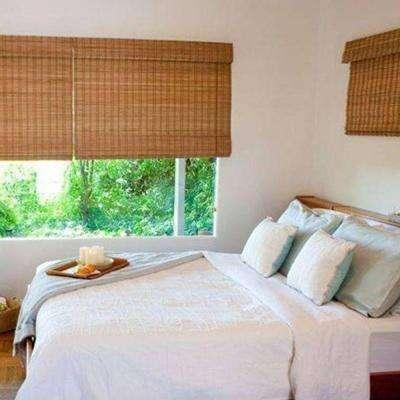 bamboo blinds budget woven wood shade HBNDAOP