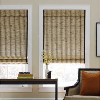 bamboo blinds tortoise natural bamboo roman shade IWXYMME