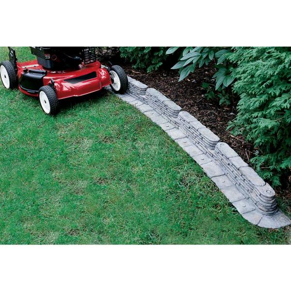 bedrocks trimfree resin slate lawn edging-2032hd - the home depot RDWTNND