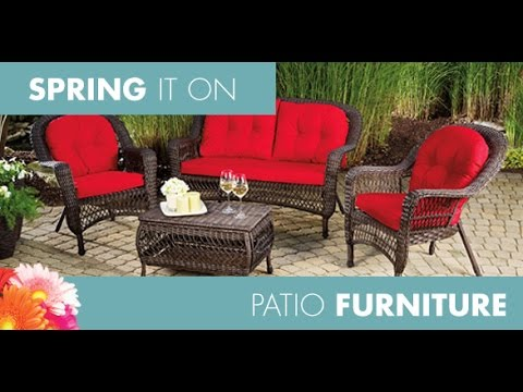 big lots patio furniture~big lots patio table and chairs RNENLQJ