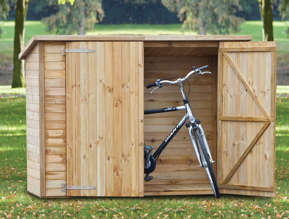 bike shed bike strore tanalised shed bike storage shed UFDXYGR