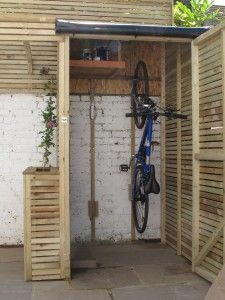 bike storage shed diy dried up stream beds 8. outdoor bike storagebicycle ... CQKNOBF