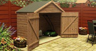 bike storage shed hover to zoom LDOGZSG