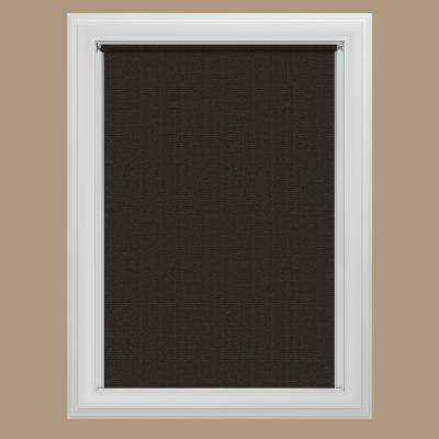 blackout shades java blackout cordless fabric roller shade LVWIUVM